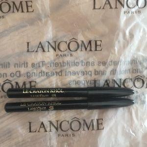 Lancome 2 Black Ebony eye pencils🌷